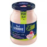 Joghurt Pur Bio Himbeere-Granatapfel 3,8%