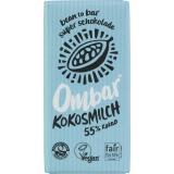 Ombar Kokosmilch-Rohschokolade
