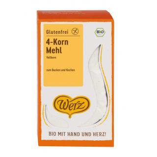 4-Korn-Vollkorn-Mehl glutenfre