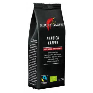 Röstkaffee, ganze Bohne, entkoffein 250 g