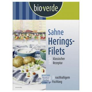 Sahne-Heringsfilets