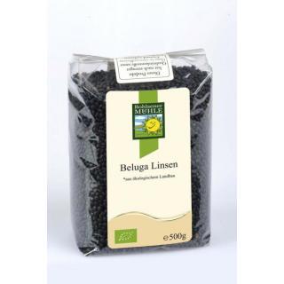 Beluga Linsen (schwarze Linsen