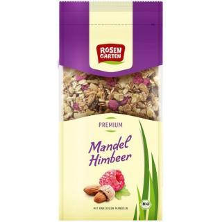Mandel-Himbeer-Krokantmüsli