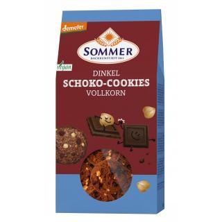Dinkel Schoko Cookies, Vollkor