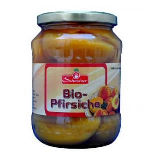 Bio-Pfirsiche