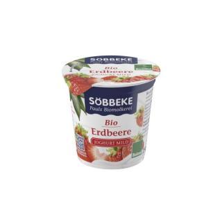 Fruchtjoghurt Erdbeere Becher