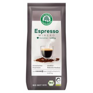 Espresso Minero, gemahlen