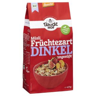 Dinkel-Müsli Früchtezart, Deme