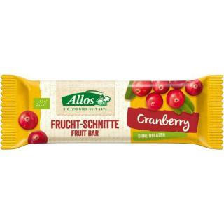 Cranberry Fruchtschnitte