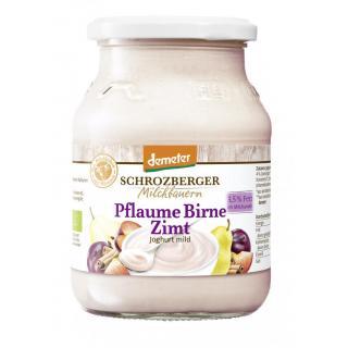 Dem.Pflaume-Birne-Zimt Joghurt