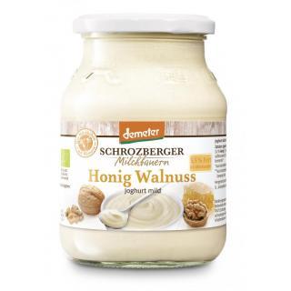 Winterjoghurt Honig-Walnuss