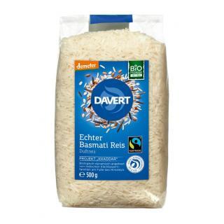 Echter Basmati Reis, weiß