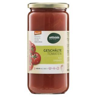 Geschälte Tomaten, demeter