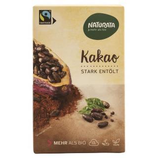 Kakao, stark entölt, 10-12% Fe
