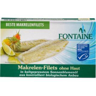 Makrelen-Filets o Haut o Gräte