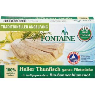 Heller Thunfisch in Sonnenb