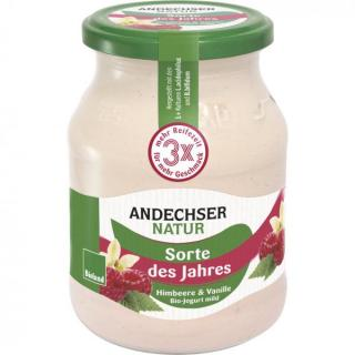 Fruchtjoghurt Himbeere-Vanille