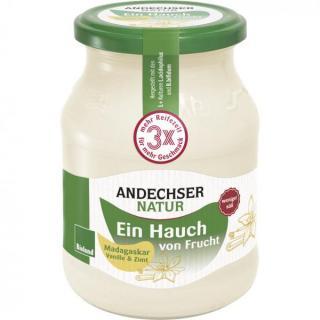 Joghurt ein Hauch von Vanille-Zimt 3,7%