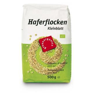 green Haferflocken fein