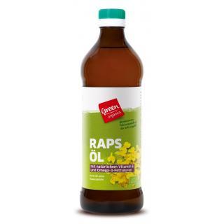 green Rapskern-Öl kaltgepresst