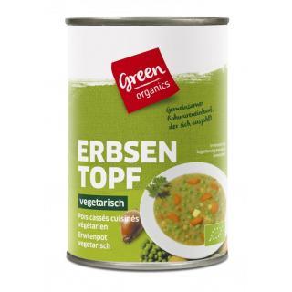 green Erbseneintopf