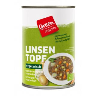 green Linseneintopf