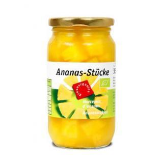 Ananas Stücke in eigenen Saft