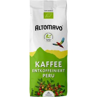 Bio-Kaffee entkoffeiniert 250g