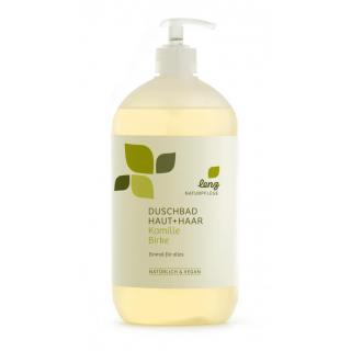 Duschbad Haut und Haar Kamille Birke