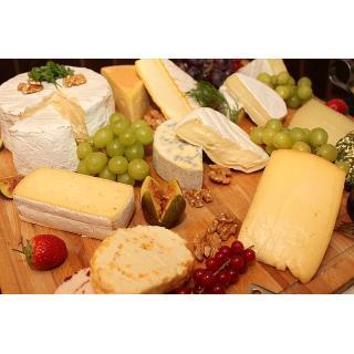 4 Sorten Käse - nur im Abo (geplante Zusammenstellung)