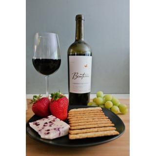 2 Sorten Käse & Wein Paket - nur im Abo (geplante Zusammenstellung)