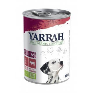 Hundefutter Bröckchen mit Rind 12 Stück